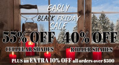 55% Plus 10% OFF EcoSmart Shades for Our Early Black Friday Sale!