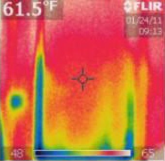 Thermal Photo WITHOUT Energy Saving Side tracks