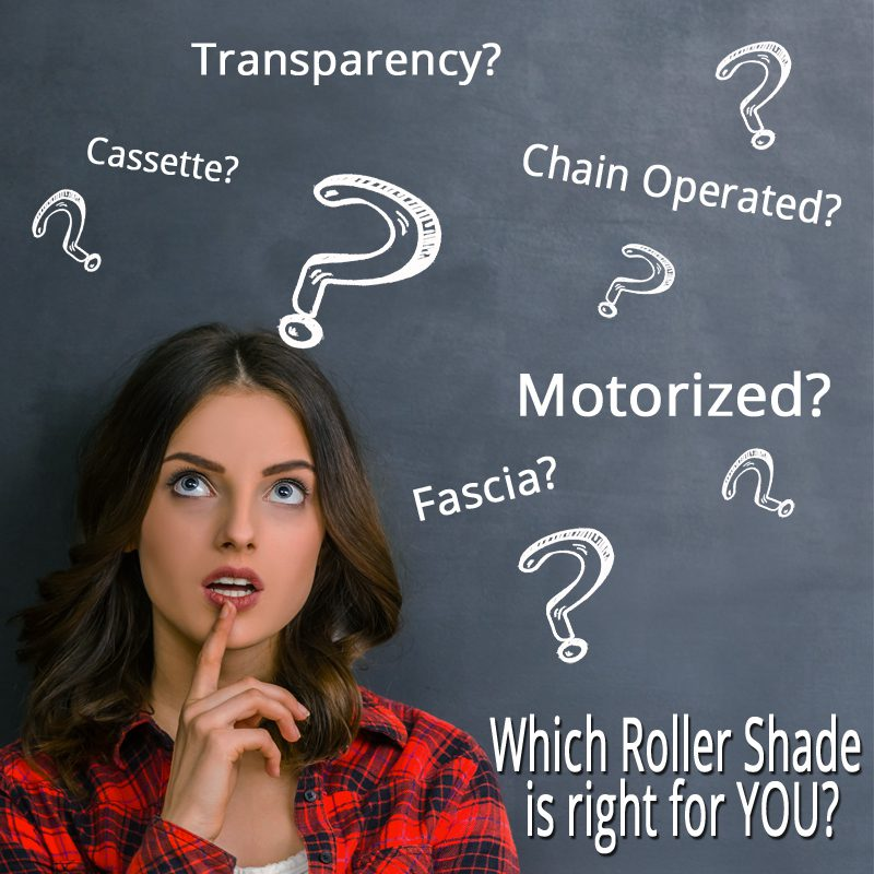 How to choose the right roller shade